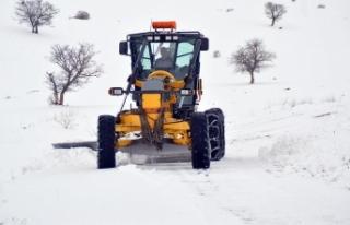 Sivas'ta 258 köye ulaşım sağlanamıyor