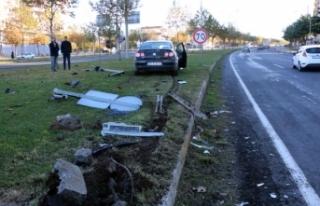 Siverek'te iki otomobil çarpıştı: 7 yaralı