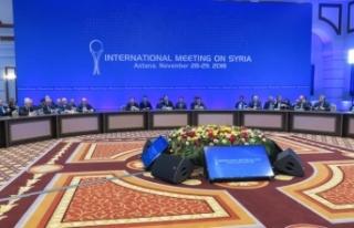 Suriye'de siyasi çözüm için anayasa süreci