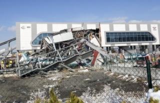 YHT kazasının yaşandığı hatta onarım çalışmaları...