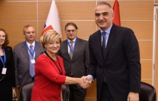Türkiye ile Slovakya arasında kültür iş birliği...