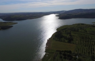 Yağış İstanbul'a su sağlayan barajları...