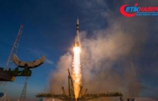 Yeni astronot ekibi Uluslararası Uzay İstasyonu'na...