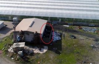 1 milyon liralık kaçak elektriğe drone'lu...