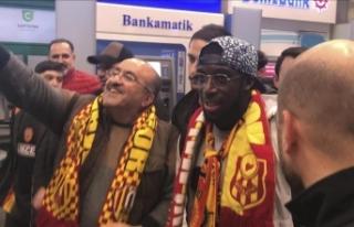 Aboubakar Kamara, Yeni Malatyaspor için İstanbul'da