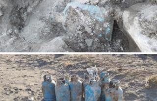 Ağrı Dağı'nda PKK'lı teröristin cesedi...