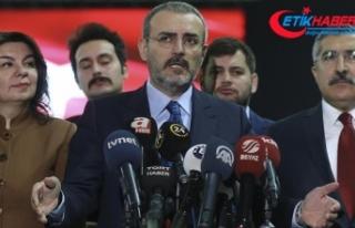 AKP'li Ünal: Ünal: Seçim manifestomuzun özeti...