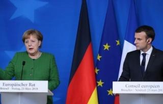 Almanya ile Fransa arasında yeni iş birliği anlaşması...