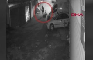 Ankara'da genç kadını boğazına çakmak dayayarak...