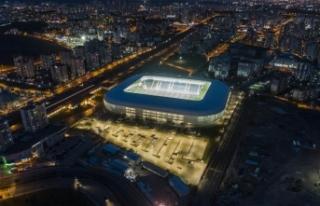Ankara'nın yeni stadı futbolseverlerin hizmetine...