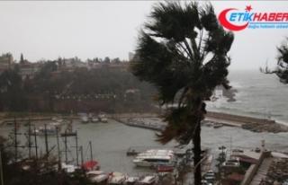 Antalya'da şiddetli yağış ve hortum nedeniyle...