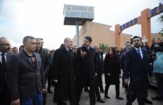 """""""Antalya'daki hortumda 315 binada hasar tespit..."""