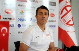 Antalyaspor Teknik Direktörü Korkmaz: Hiç kimsenin...