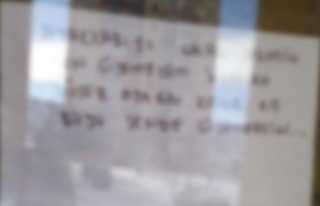 Ayakkabısını çalan hırsıza bu notu bıraktı:...