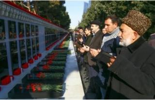 Azerbaycan'da 'Kanlı Ocak' kurbanları...