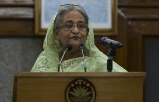 Bangladeş'te Şeyh Hasina Başbakan olarak yemin...