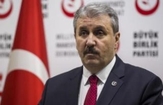 BBP Genel Başkanı Destici: HDP terör örgütünün...