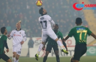 Beşiktaş deplasmanda Akhisarspor'u mağlup...
