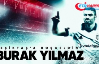 Beşiktaş'tan Burak Yılmaz'a 'hoş...