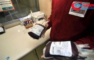 'Bir kişi kan bağışıyla 3 hastaya hayat...
