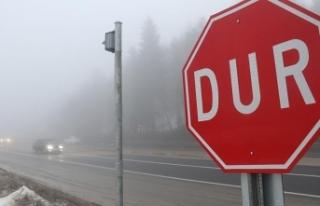 Bolu Dağı'nda yoğun sis