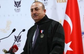 Çavuşoğlu: Kıbrıs davası birilerinin siyasi...