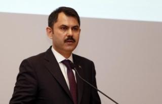 Çevre ve Şehircilik Bakanı Kurum: Poşet kullanımı...