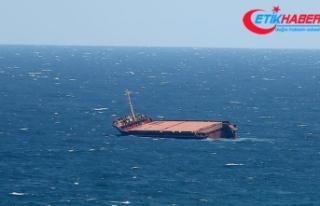 Çin'de yük gemisi battı