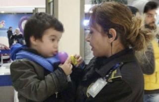 Çocuğunu AVM'de terk eden anne otelde bulundu