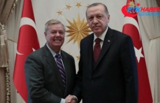 Cumhurbaşkanı Erdoğan, ABD'li senatör Graham'ı...