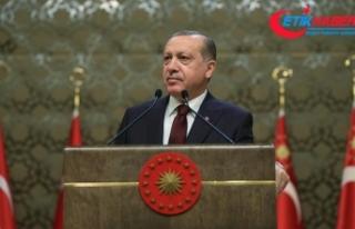 Cumhurbaşkanı Erdoğan: Kültür sanat önemli bir...