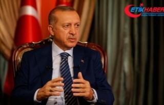 Cumhurbaşkanı Erdoğan: Terörle mücadele etmek...