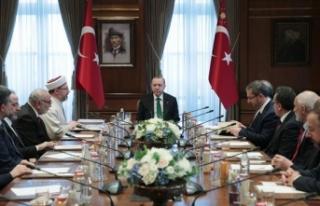 Cumhurbaşkanı Erdoğan, Diyanet İşleri Başkanı...
