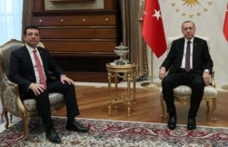 Cumhurbaşkanı Erdoğan, İmamoğlu'nu kabul...