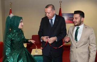 Cumhurbaşkanı Erdoğan Kocaeli'nde bir çiftin...