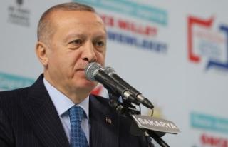 Cumhurbaşkanı Erdoğan: Savunma sanayimizi çok...
