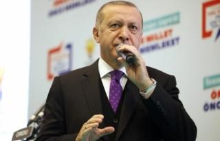 Cumhurbaşkanı Erdoğan: Terör örgütlerini gömerek...
