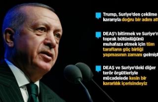 Cumhurbaşkanı Erdoğan: Trump Suriye'den çekilme...