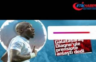 Diagne'den Galatasaray paylaşımı