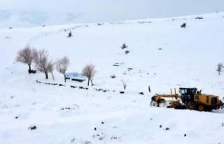 Sivas'ta 147 köye ulaşım sağlanamıyor