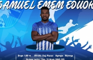 Eduok, BB Erzurumspor ile 2.5 yıllığına anlaştı