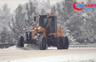 Ege'de kar etkili oluyor
