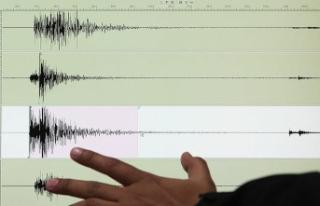 Burdur'da 3,4 büyüklüğünde deprem