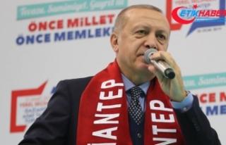Erdoğan: Yanı başımızdaki kardeşlerimizi zalimlerin...