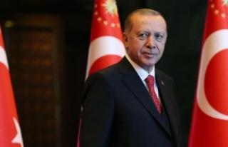 Erdoğan'dan 10 Ocak Çalışan Gazeteciler Günü...