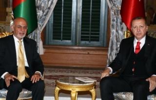 Erdoğan'dan Afganistan Cumhurbaşkanı Gani'ye...