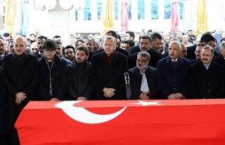 Erdoğan eski milletvekili Aksak'ın cenazesine...