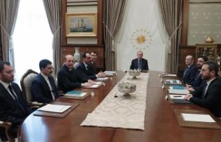 Erdoğan Politika Kurullarının başkanvekillerini...