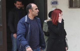 Eşinin eve erkek aldığını kameradan görüp polise...