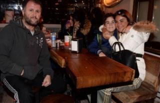 Eski eşi tutuklanan Özlem Yıldız, Uludağ'da...